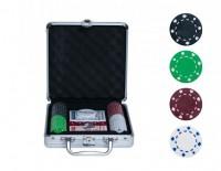 """Набор для покера """"БЕЗ""""-100 фишек без номинала"""