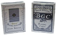 """Карты для покера  """"BGC"""""""