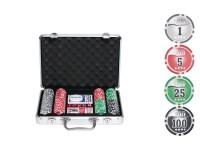 """Набор для покера """"НАТС""""-200 фишек с номиналом"""