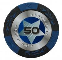 """Набор для покера """"БЛЭК СТАРС""""- 200 фишек с номиналом"""