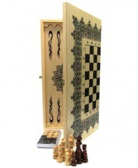 """Набор шахматы+нарды+шашки """"КЛАССИК"""" 60х60 см."""