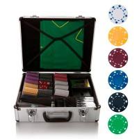 """Набор для покера """"БЕЗ""""-600 фишек без номинала"""