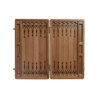 """Нарды деревянные """"ОРФЕЙ"""" большие 60х68 см."""
