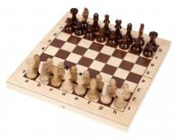 """Шахматы деревянные """"КИРОВСКИЕ"""" средние 32х32 см."""