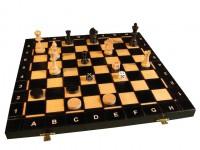 "Набор шахматы+нарды+шашки ""СЕНАТОР"" 42х42 см."