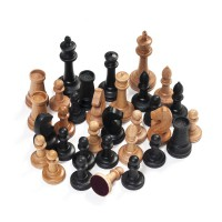 "Шахматы деревянные ""СЕНЕЖ ТУРНИРНЫЕ"" БУК складные 40х40 см."