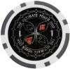 """Набор для покера """"УЛЬТИМАТ""""-100 фишек с номиналом"""